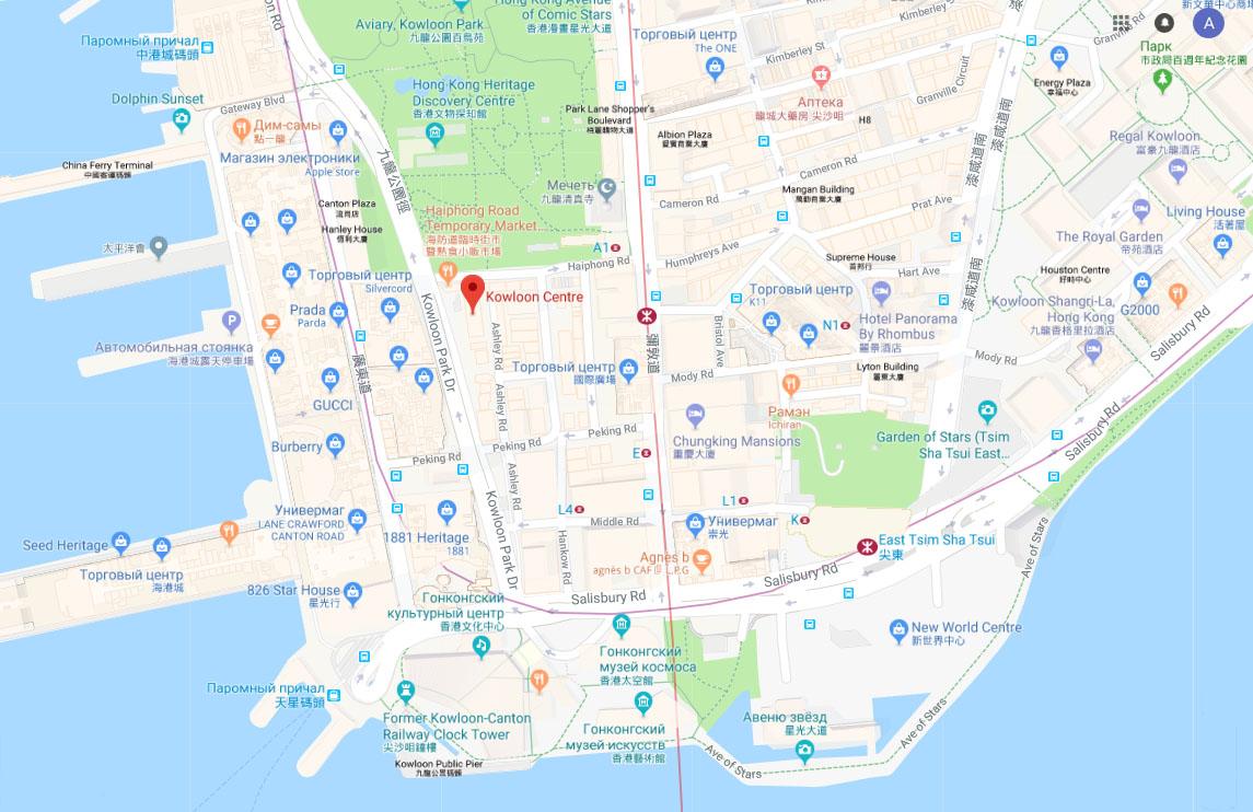 Map 2 addr